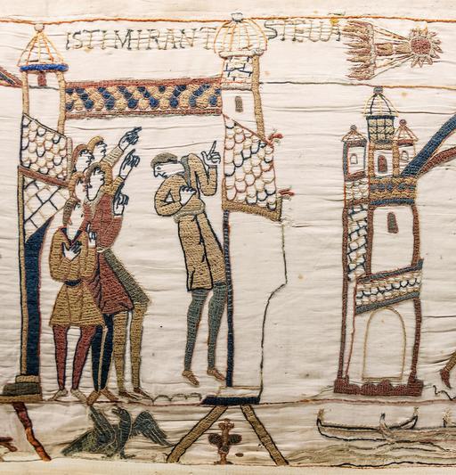 Comète de Halley sur la tapisserie de Bayeux