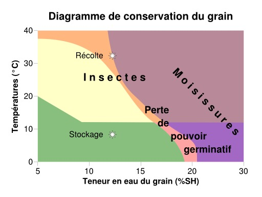 Conservation des céréales