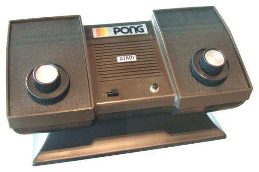Console Atari Pong en 1976