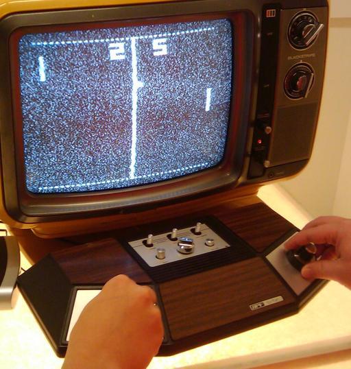 Console de Pong
