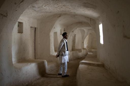 Construction adaptée au désert en Libye