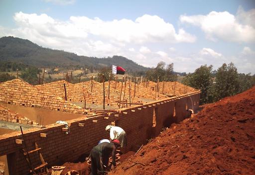 Construction d'un collège à Madagascar 07
