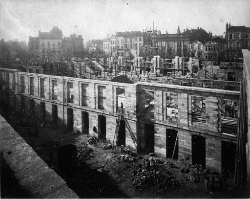 Construction de l'ancienne Faculté des Sciences de Bordeaux