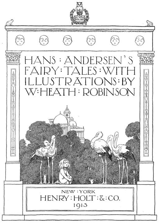 Contes d'Andersen illustrés par Robinson
