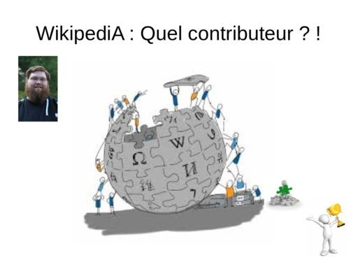 Contributions à Wikipédia