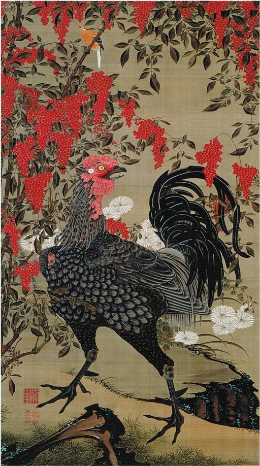 Coq japonais