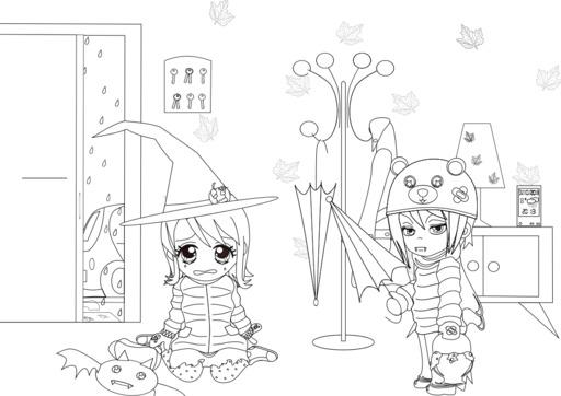 Coralie et Halloween - 07