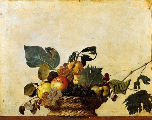 Corbeille de fruits de saison en 1599