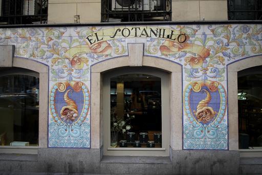Cornes d'abondance à Madrid