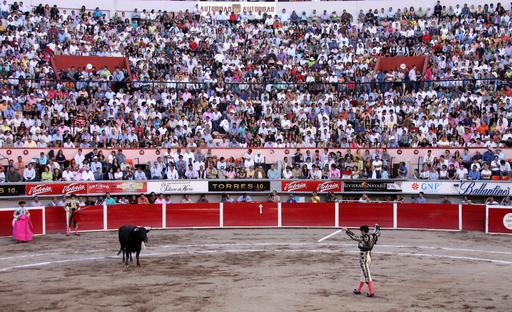 Corrida au Mexique