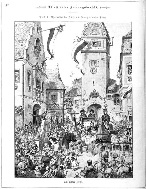 Cortège princier en 1803