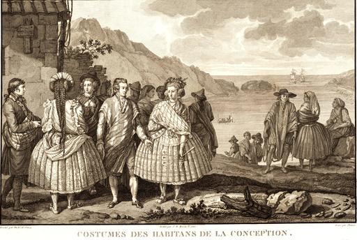 Costumes de Chiliens en 1797