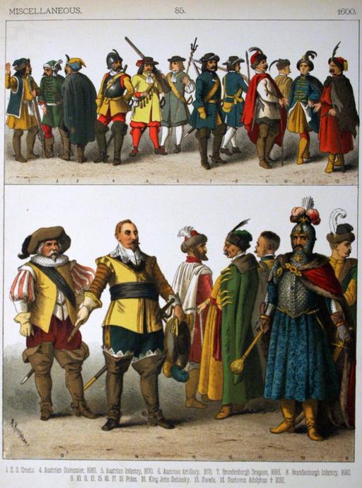 Costumes du dix-septième siècle