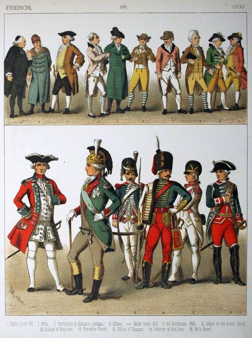 Costumes français du dix-huitième siècle