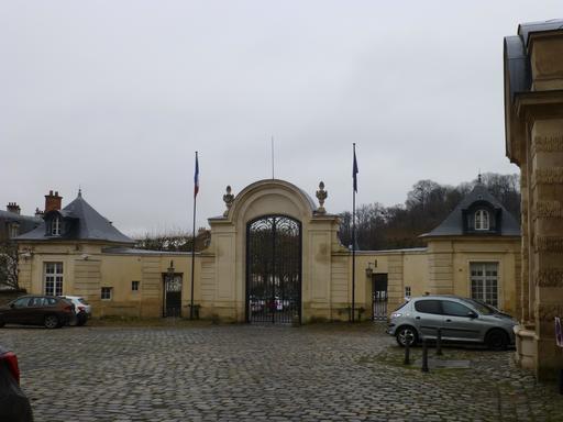 Cour d'entrée de la Manufacture de Sèvres
