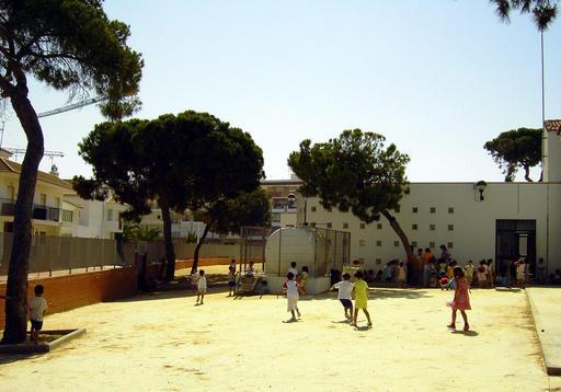 Cour de récréation en Espagne