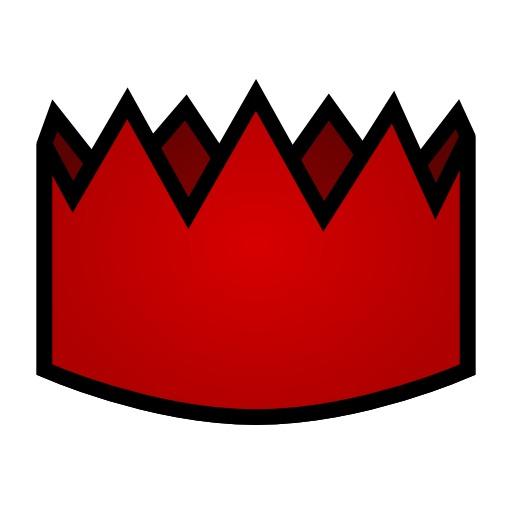 Couronne des rois rouge