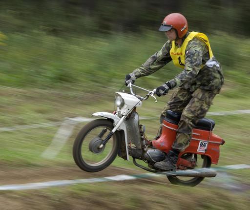 Course de motocross