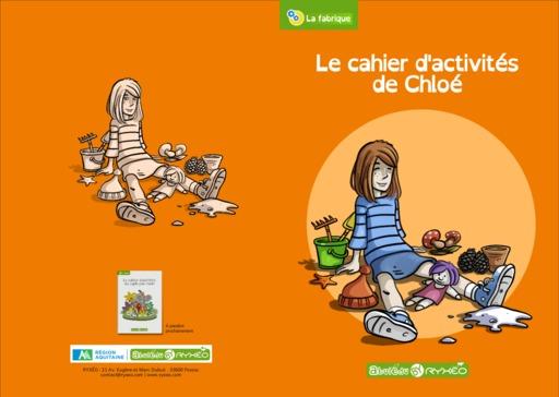 Couverture complète du cahier d'activités de Chloé