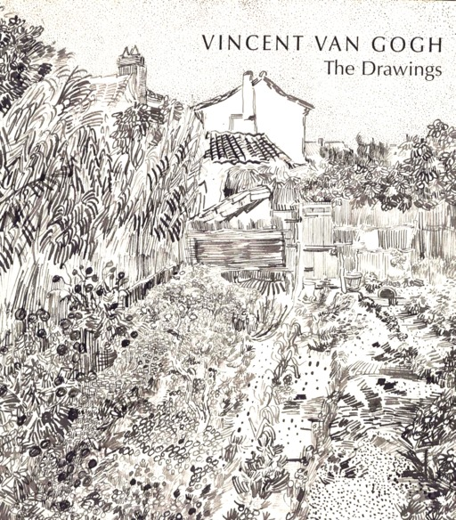 Couverture de l'album de dessins de Van Gogh