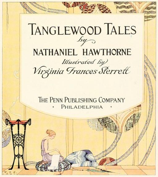 Couverture des Contes de Tanglewood en 1921