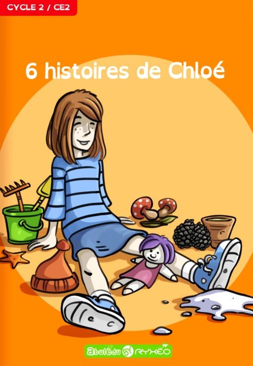 Couverture des six histoires de Chloé