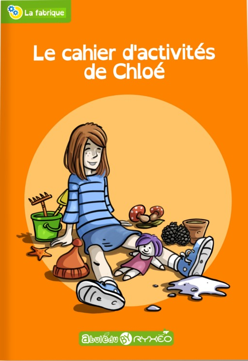 Couverture du cahier d'activités de Chloé