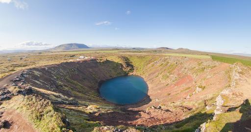 Cratère volcanique de Kerið en Islande