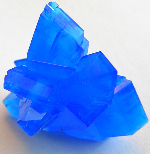 Cristaux bleus
