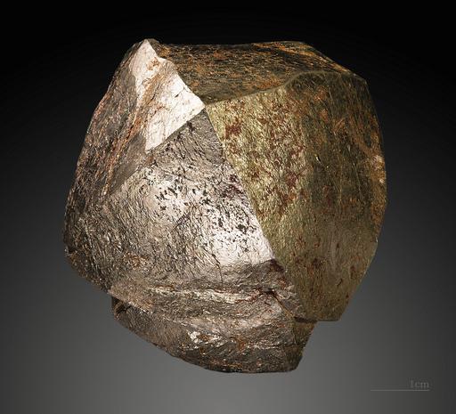 Cristaux de Pyrite de la mine de talc de Trimouns