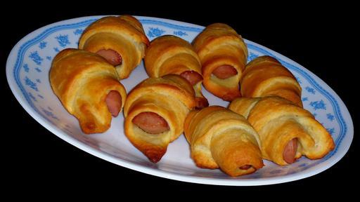Croissants fourrés