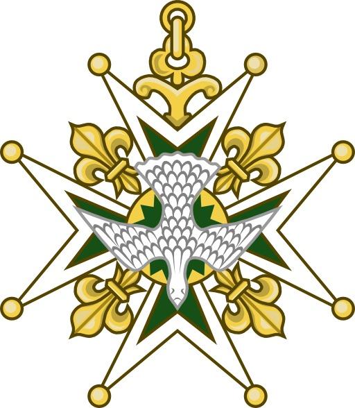 Croix de l'ordre du Saint-Esprit