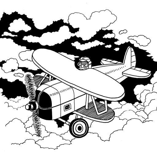 Croquis d'avion