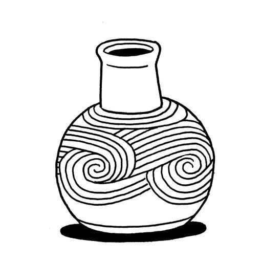 Croquis de vase