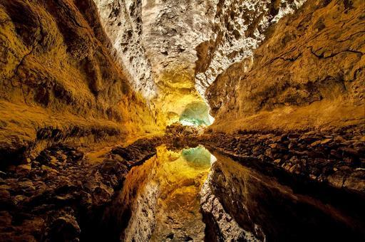 Cueva de Los Verdes à Lanzarote