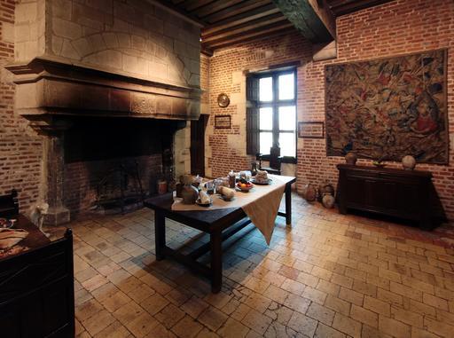 Cuisine du château du Clos Lucé