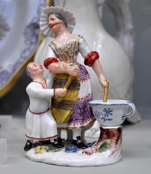 Cuisiniers en porcelaine en 1744
