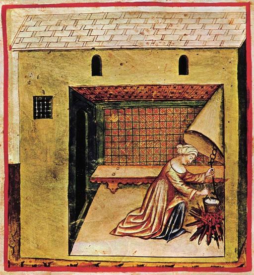 Cuisson des légumes au Moyen Age