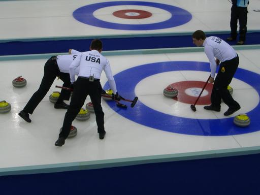 Curling à Turin