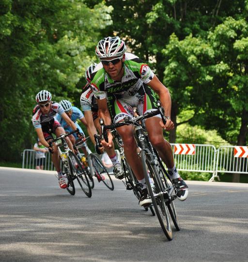 Cyclistes au Tour de Beauce à Québec