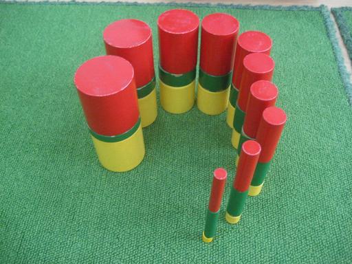 Cylindres Montessori
