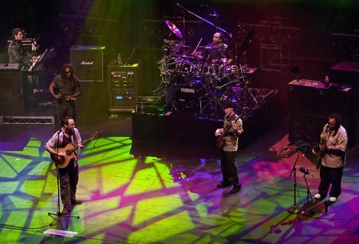 Dave Matthews et son orchestre à Melbourne