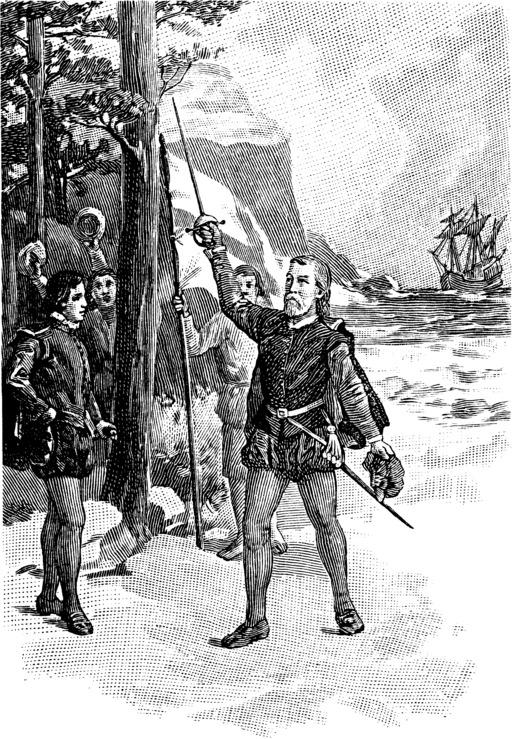 Débarquement de Cabot