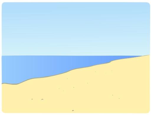 Décor de plage