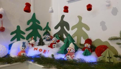 Décoration de Noël à Salies-de-Béarn