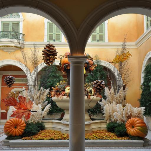 Décorations pour Thanksgiving et Halloween