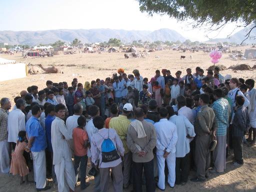 Démonstration de magie au Rajasthan