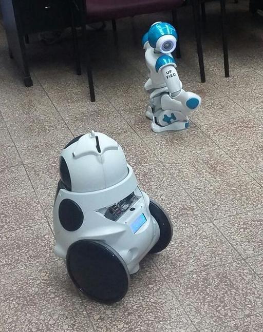 Démonstration de robots