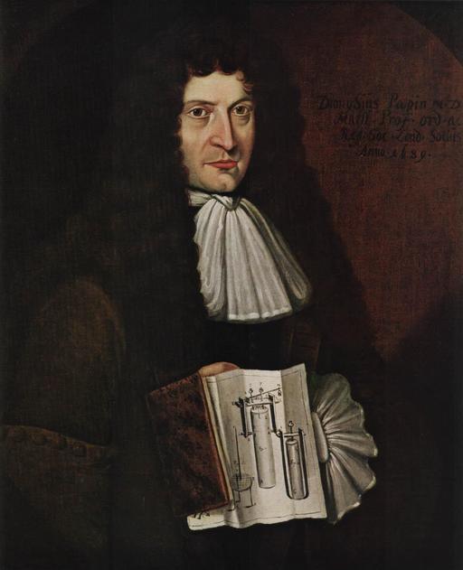 Portrait de Denis Papin en 1689