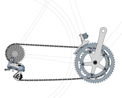 Dérailleur de bicylette